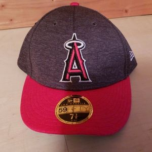 sale retailer 2bf97 bf708 LA Angels MLB 59 Fifty New Era Size 7 7 8 NWT!